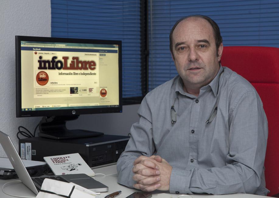 Jesús Maraña, principal responsable del nuevo proyecto. Fotos: Miguel Ángel Benedicto / APM