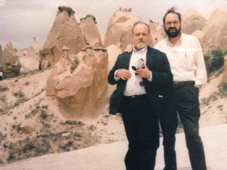 Con Juan Fez Elorriaga